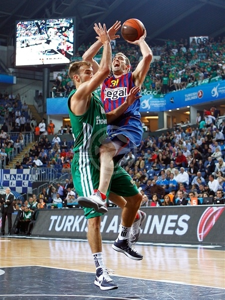 Chuck Eidson - FC Barcelona Regal - Final Four Istanbul 2012