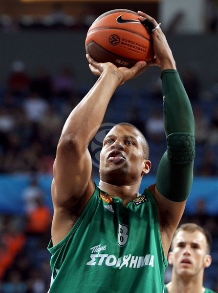 Mike Batiste - Panathinaikos - Final Four Istanbul 2012