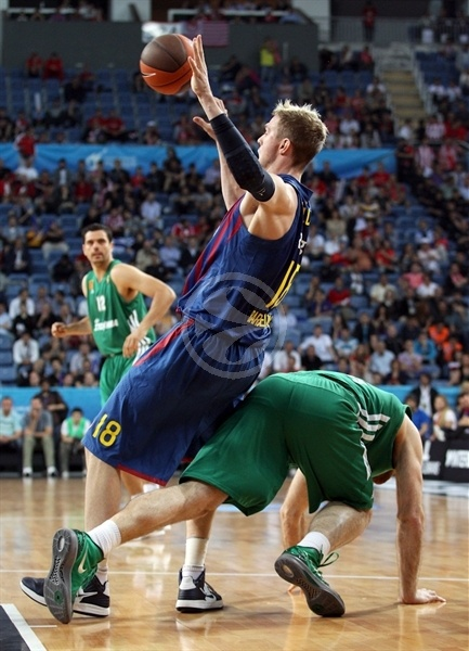 JC Wallace - FC Barcelona Regal - Final Four Istanbul 2012