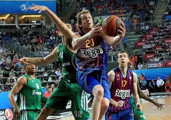 Joe Ingles - FC Barcelona Regal - Final Four Istanbul 2012