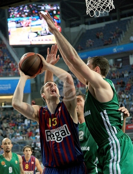 Kosta Perovic - FC Barcelona Regal - Final Four Istanbul 2012