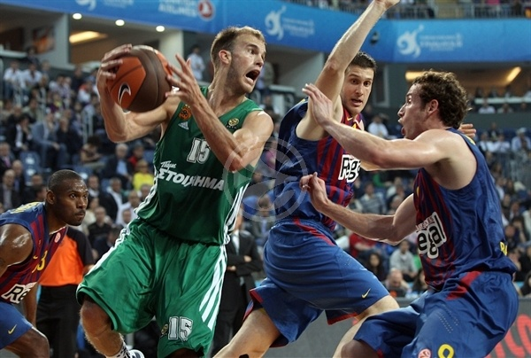 Nick Calathes - Panathinaikos - Final Four Istanbul 2012