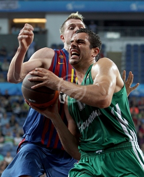 Kostas Tsartsaris - Panathinaikos - Final Four Istanbul 2012