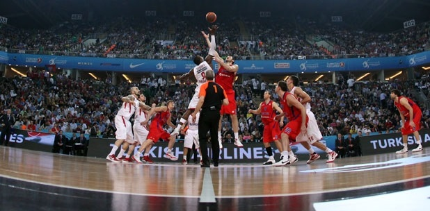 Tip-Off Final, CSKA Moscow vs. Olympiacos - Final Four 2012