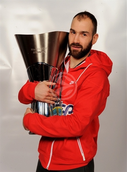 Vassilis Spanoulis - Olympiacos champ Euroleague 2011-12 - Final Four Istanbul 2012