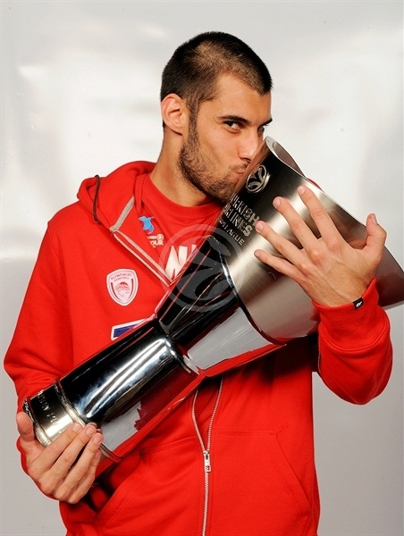 Georgios Printezis - Olympiacos champ Euroleague 2011-12 - Final Four Istanbul 2012