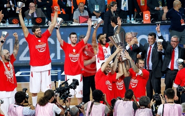 Olympiacos is the new champ - Olympiacos champ Euroleague 2011-12 - Final Four Istanbul 2012