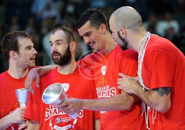 Marko Keselj - Olympiacos champ Euroleague 2011-12 - Final Four Istanbul 2012