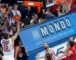 2012 title-winning shot in Istanbul by Georgios Printezis - Olympiacos Piraeus