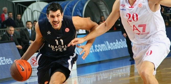 Anadolu Efes forward Akyol sidelined with broken foot