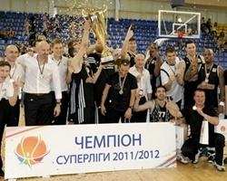 BC Donetsk is 2012 Ukrainian champion! (Photo superleague.ua)
