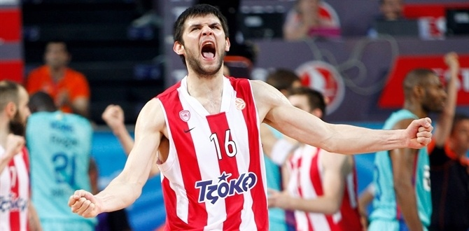 Sky's the limit for Olympiacos young guns