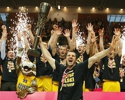 Asseco Prokom Gdynia is the 2012 Polish champion (Photo: PLK)