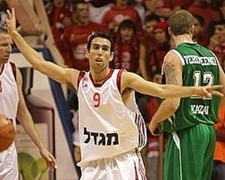 Moran Roth signs with Maccabi Tel Aviv (Photo: Hapoel.co.il)