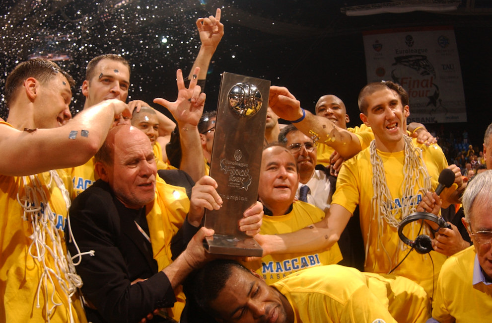 Tal Burstein - Maccabi Electra champ Euroleague 2004-05