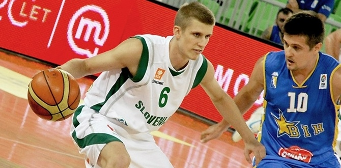 Union Olimpija lands young Rupnik at point
