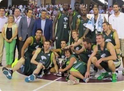 Unicaja is 2012 Andalucia Cup champion