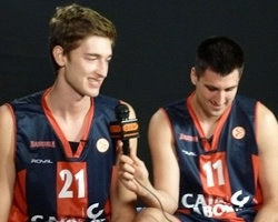 Tibor Pleiss and Milko Bjelica - Caja Laboral Media Day