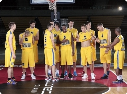 Players Asseco Prokom Media Day