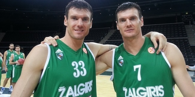 Lavrinovic twins reunite at Lietkabelis Panevezys