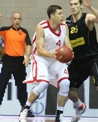 Petr Benda - CEZ Basketball Nymburk - Qualifying Round 2012