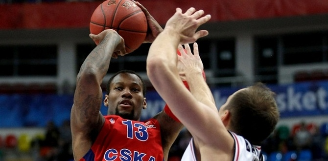 Regular Season Week 2 bwin MVP: Sonny Weems, CSKA Moscow