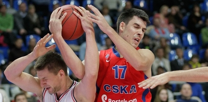 CSKA Moscow: Erceg, out several months