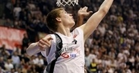 Partizan's Bertans suffers torn ACL