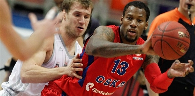 bwin MVP for October: Sonny Weems, CSKA Moscow