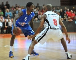 Manny Harris - BC Azovmash Mariupol (Photo Credit s.Oliver Baskets  Gerd Ulherr)