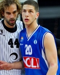 Nikola Ivanovic - Buducnost Voli - EC12 (photo Bilbao Basket)