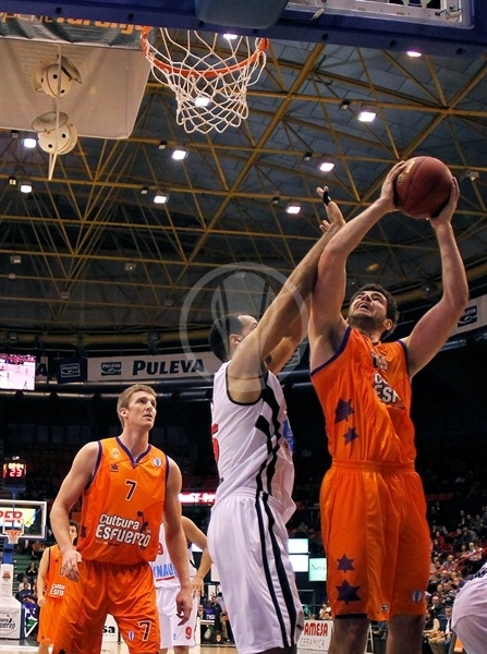 Bojan Dubljevic - Valencia Basket - EC12 (photo Miguel Ángel Polo - Valencia Basket)