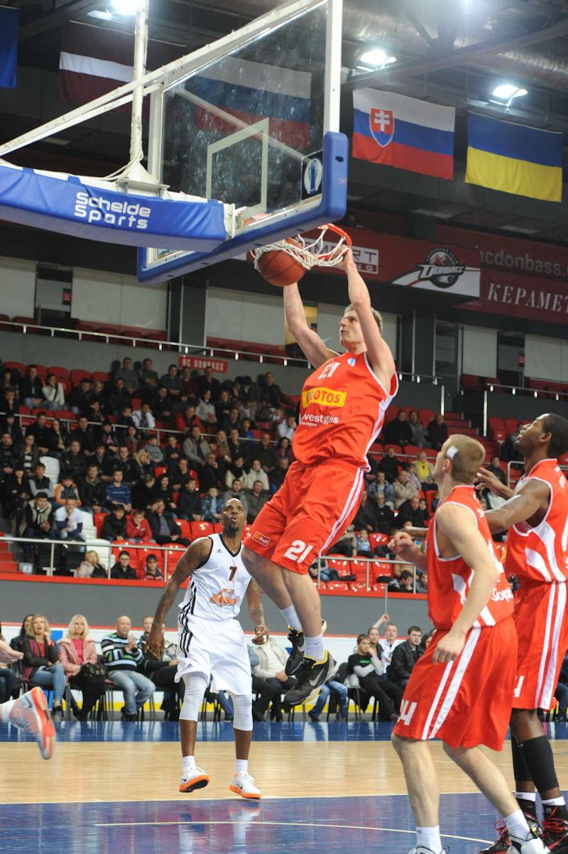 Adam Waczynski - Trefl Sopot (photo BC Donetsk)