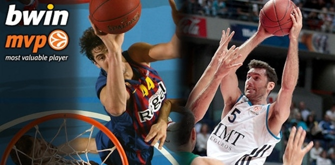 bwin co-MVPs for Week 7: Rudy Fernandez of Real Madrid and Ante Tomic of FC Barcelona Regal