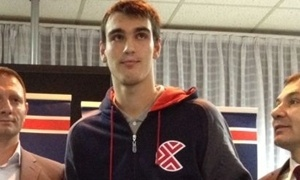 Dario Saric joins Cibona (Photo Cibona.com)