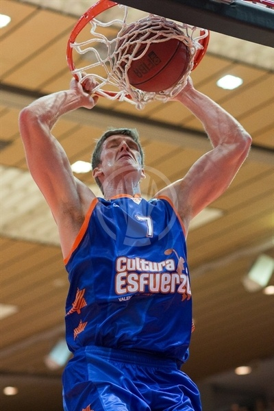 Justin Doellman - Valencia Basket - EC12 (photo s.Oliver Baskets)