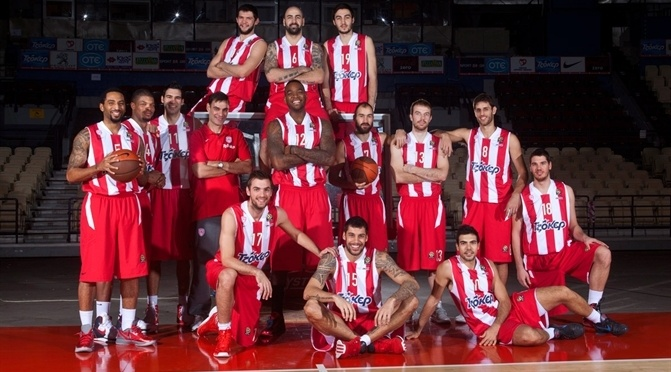 (Olympiacos BC image courtesy Euroleague)