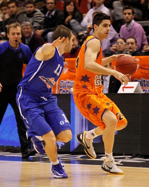 Lluis Sabater - Valencia Basket - EC12 (photo Valencia Basket)