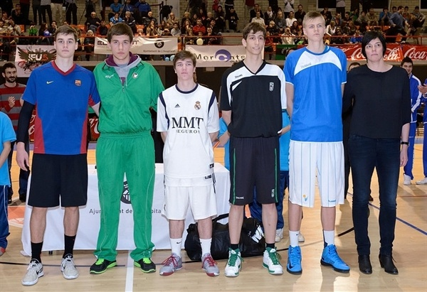 All-tournament Tean NIJT Hospitalet 2013 (photo Jordi Montraveta)