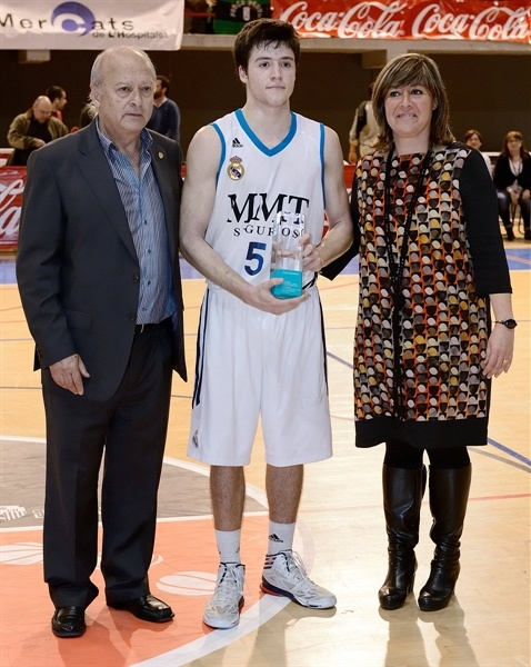 Real Madrid finalist NIJT Hospitalet 2013 (photo Jordi Montraveta)