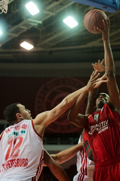 Derrick Brown - Lokomotiv Kuban - EC12 (photo Spartak St. Petersburg)