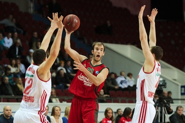 Nick Calathes - Lokomotiv Kuban - EC12 (photo Spartak St. Petersburg)