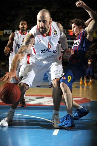 Pero Antic - Olympiacos Piraeus - EB12