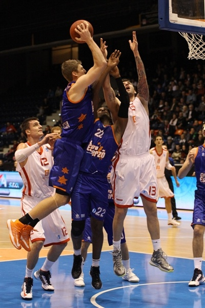 Justin Doellman - Valencia Basket - EC12 (photo CEZ Nymburk)