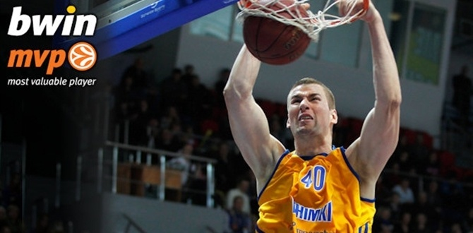 Top 16, Week 4 bwin MVP: Paul Davis, BC Khimki Moscow Region