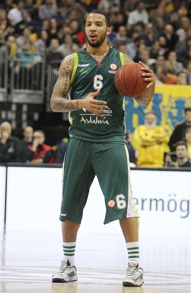 Marcus Williams - Unicaja Malaga - EB12