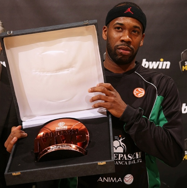 Bobby Brown, January MVP 2013 - Montepaschi Siena - EB12