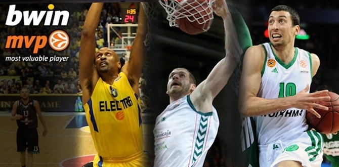 Top 16 Game 8 bwin tri-MVPs: Devin Smith, Roko Ukic and Luka Zoric