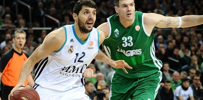 Mirotic sets Euroleague free throw mark
