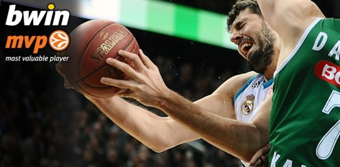 Top 16 Week 10 bwin MVP: Nikola Mirotic, Real Madrid